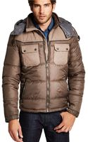 Guess Quilted Puffer Jacket - Lyst