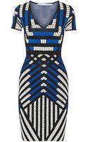 Diane von Furstenberg Lorraine Stretch Knit Mini Dress - Lyst