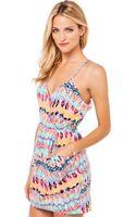 Akira Tribal Summer Dress - Lyst