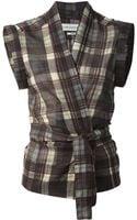 Etoile Isabel Marant Plaid Shirt - Lyst