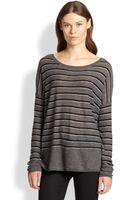 Vince Superwash Striped Sweater - Lyst