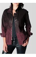 True Religion Isabelle Utility Coated Womens Jacket - Lyst