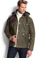 Barbour Ware Waxed Jacket - Lyst