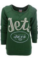 Junk Food Womens Longsleeve New York Jets Fleece Sweatshirt - Lyst