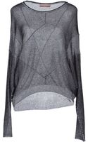 Stefanel Long Sleeve Sweater - Lyst