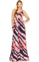 French Connection Striped Maxi Dress - Lyst