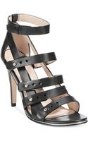 French Connection Nolinda Caged Sandals - Lyst