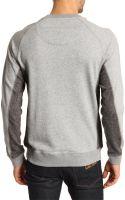 Marc By Marc Jacobs Hank Grey Sweatshirt - Lyst