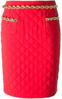 Moschino Quilted Skirt - Lyst