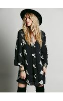 Free People Embroidered Austin Dress - Lyst
