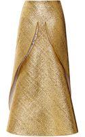Thom Browne Laminated Dove Skirt - Lyst