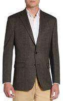 Lauren by Ralph Lauren Regular-fit Herringbone Wool Sportcoat - Lyst