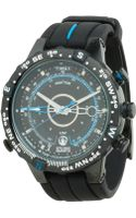 Timex® Intelligent Quartz Adventure Series Tide Temp Compass Silicone Strap Watch - Lyst