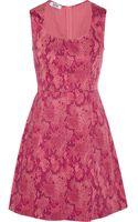 Moschino Cheap & Chic Snakeprint Cottonblend Mini Dress - Lyst