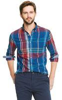 Tommy Hilfiger New York Fit Plaid Shirt - Lyst