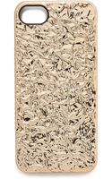Marc By Marc Jacobs Foil Iphone 5 5s Case Silver - Lyst