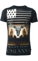 Philipp Plein Wild Horses Ts-Shirt - Lyst