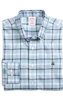 Brooks Brothers Noniron Regular Fit Check Sport Shirt - Lyst