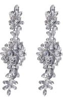 Givenchy Strass Crystal Drop Earrings - Lyst