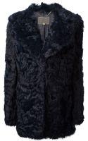Muubaa Lamb Fur Coat - Lyst
