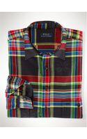 Polo Ralph Lauren Bright Plaid Workshirt - Lyst