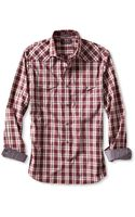 Banana Republic Mens Slim Fit Multi Plaid Western Shirt  - Lyst