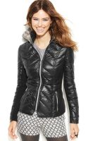 BCBGeneration Packable Chevronquilted Down Puffer Jacket - Lyst