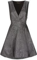 Roberto Cavalli Metallic Full Dress - Lyst