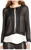 Haute Hippie Beaded Silk Organza Jacket - Lyst