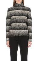 Hugo Boss Ombré Turtleneck Wool and Cashmere-blend Jumper - Lyst