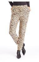 Boss Orange Simiss  Silk Leopard Print Pants - Lyst