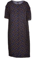 Laura Urbinati Kneelength Dress - Lyst