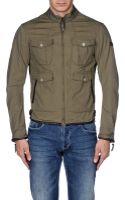 Armani Jeans Bomber Jacket - Lyst
