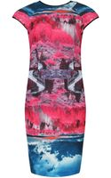 Ted Baker Ismay Road To Nowhere Print Dress - Lyst