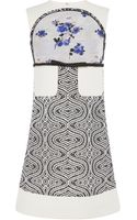 Giambattista Valli Inlaid Dress - Lyst