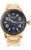 Nixon The Diplomat Ss Watch - Lyst