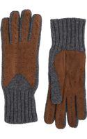 Barneys New York Driving Gloves - Lyst