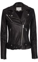 Iro Exclusive Belted Leather Jacket - Lyst