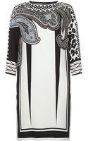 Etro Mosaic Paisley Tunic Dress - Lyst