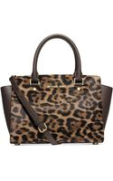 Michael Kors Michael Selma Medium Top Zip Satchel - Lyst