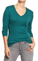 Old Navy Perfect V-neck Tees - Lyst