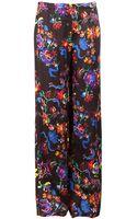 Maison Martin Margiela Floral Print Trousers - Lyst