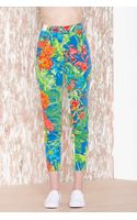 Nasty Gal Versace Tropicalia Skinny Jean - Lyst