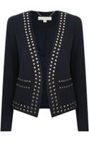 Michael by Michael Kors Studded Jacket - Lyst