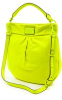 Marc By Marc Jacobs Electro Q Hillier Hobo Bag  Safety Yellow - Lyst