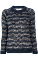 Etoile Isabel Marant Striped Jumper - Lyst