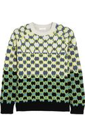 Chloé Neonembroidered Wool Sweater - Lyst