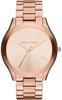 Michael Kors Ladies Slim Runway Rose Goldtone Watch - Lyst