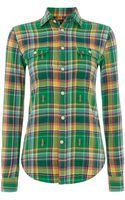 Polo Ralph Lauren Long Sleeve Checked Shirt - Lyst