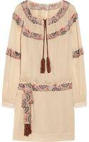 Skaist Taylor Sydney Beaded Cottongauze Dress - Lyst
